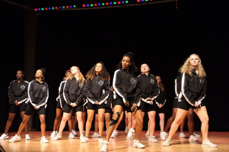 UNC Kamikazi Hip Hop Dance Team performs at a fall showcase on Nov. 10 at the Stone Center. Photo Courtesy of Emmanuel Lee.