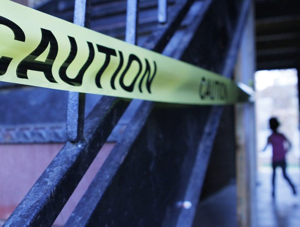 Accident spurs Collins Crossing to ?x damaged stairwells