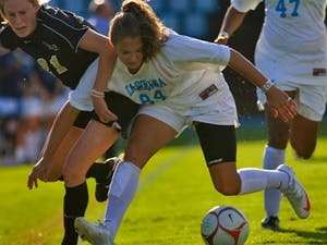 North Carolina put in two goals during Sunday's first half. DTH/Andrew Dye
