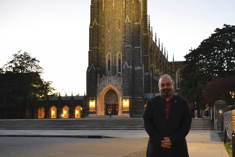<p>Omid Safi, a former UNC professor, is now the director of the Islamic Studies at Duke. One of the reasons he left was to have more freedom to give his political opinion.</p>