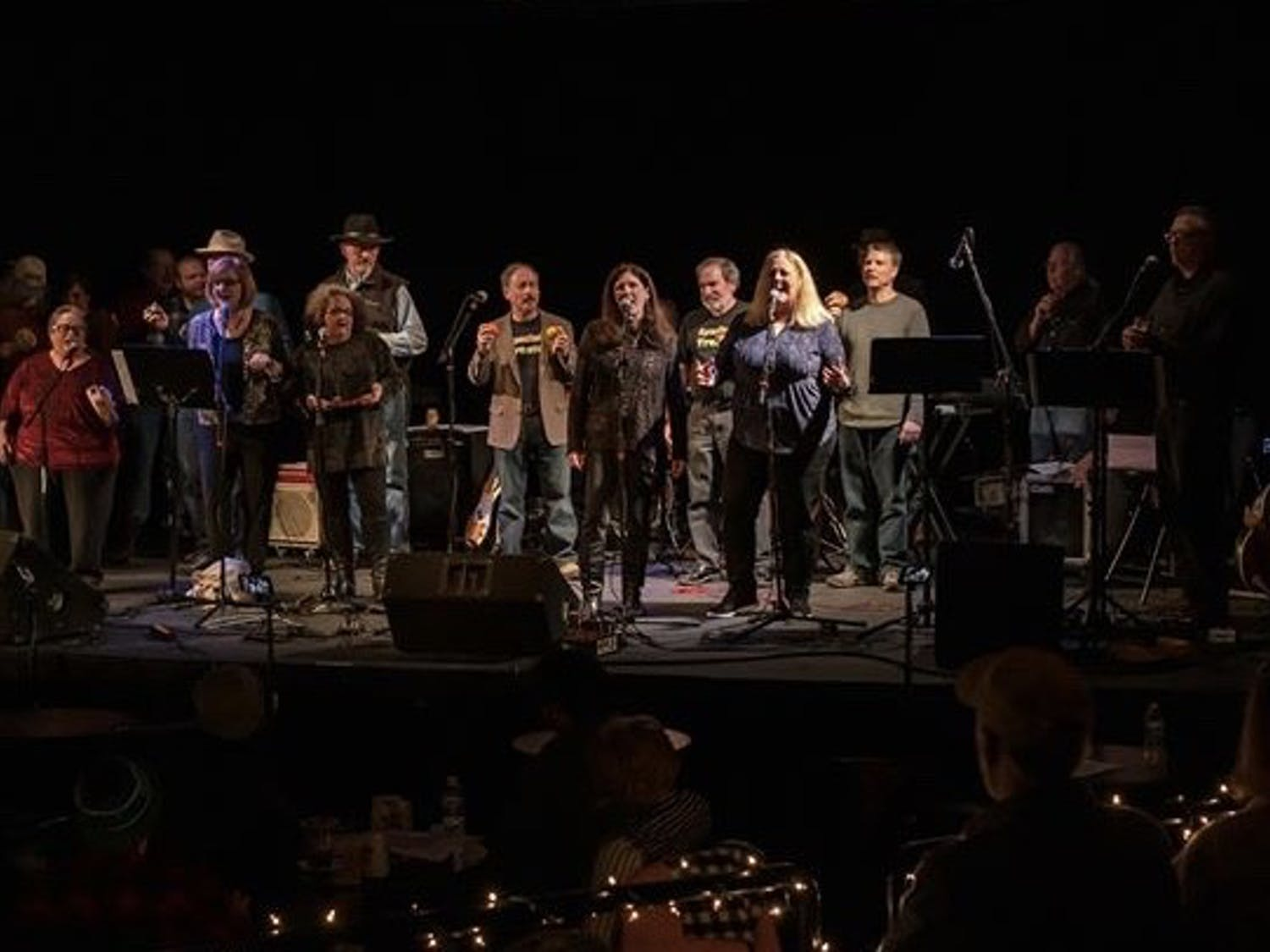A previous concert hosted by Special Treats at The ArtsCenter in Carrboro. Photo courtesy of Dan Friedman.