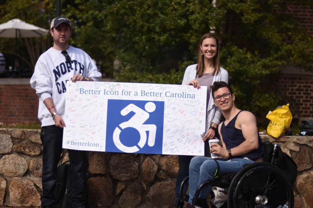 Student groups aim to change stereotypes with new accessibility signs