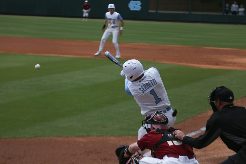 No. 12 North Carolina baseball sweeps Boston College in sloppy series
