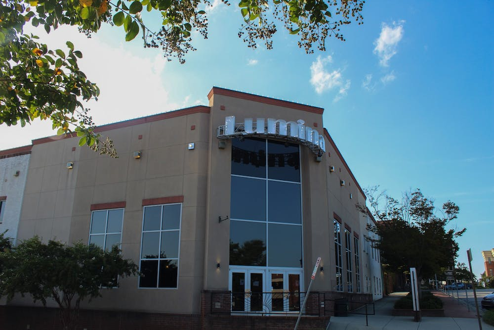 <p>The Lumina Theater, as pictured here on Thursday, Sept. 3, 2020, is launching a September series that will showcase Black-centered movies. A large portion of proceeds from this series will go the NAACP.</p>