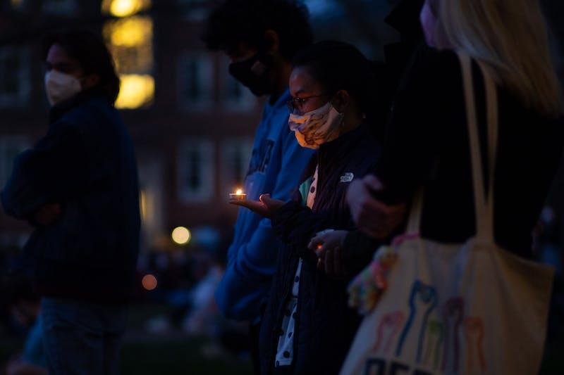 www.dailytarheel.com: Campus Y vigil honors victims of Atlanta shooting, supports Asian American community