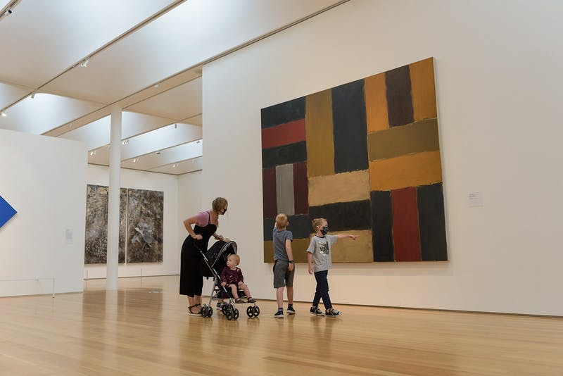 The N.C. Museum of Art reopened on Wednesday, Sept. 9, 2020 with Covid19 restrictions after Governor Roy Cooper's Phase 2.5 eased public restrictions. Photo courtesy of the N.C. Museum of Art.