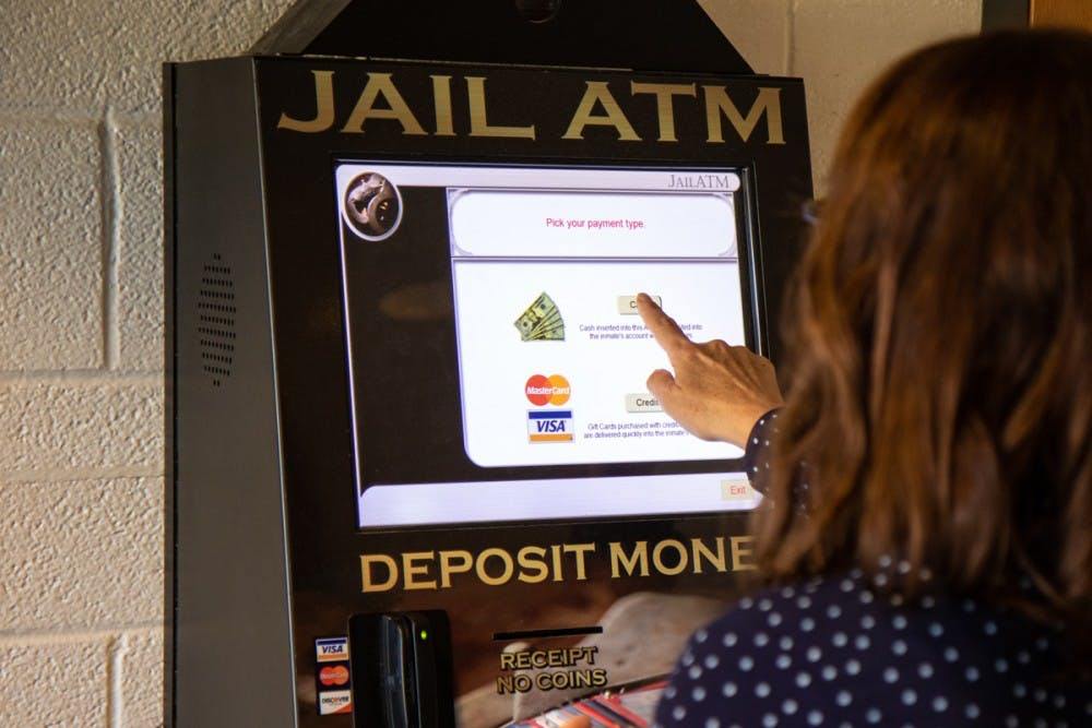 The Orange County Detention Center recently decided to remove the required fees from its ATM.