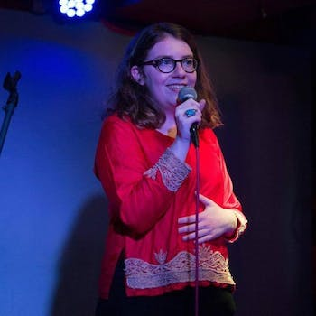Maddie Wiener is a Chapel Hill-based comedian. Photo courtesy of Maddie Wiener.