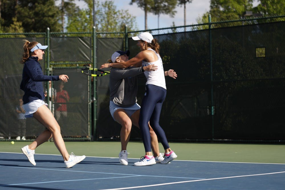 UNC women's tennis advances to Final Four with win over UCLA