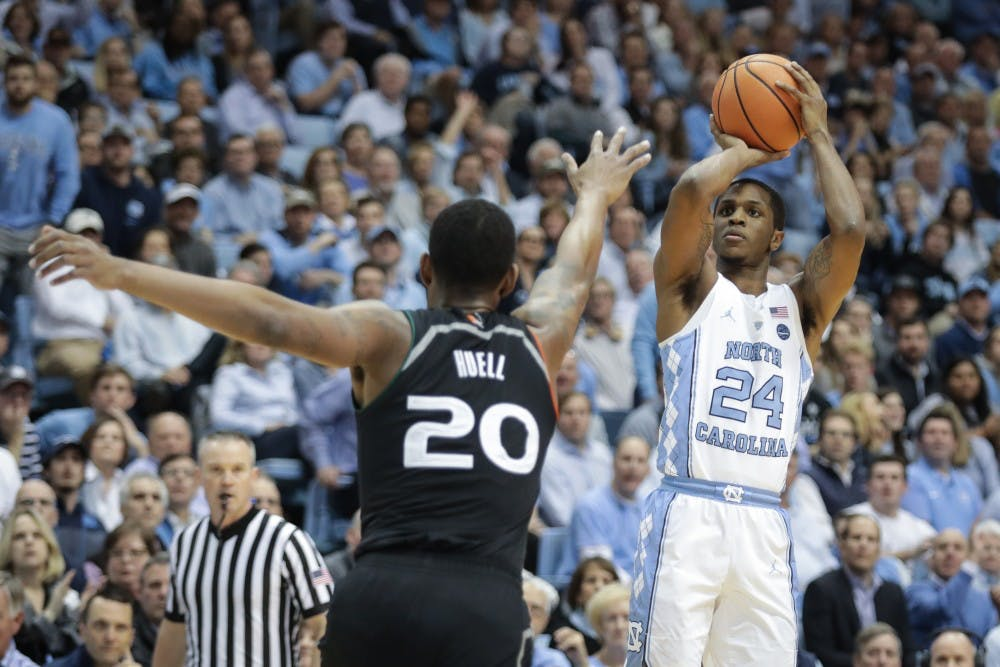 No. 7 UNC men's basketball defeats Stanford, 90-72, in home opener