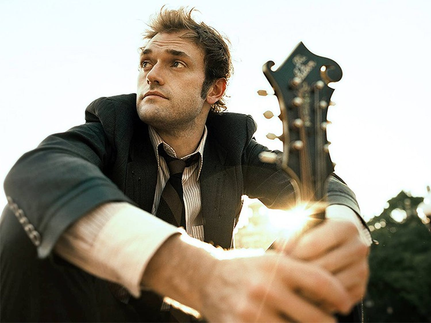 """At age 32, mandolin player Chris Thile has earned a Grammy and a MacArthur """"genius"""" grant among other musical achievements. Photo courtesy of Nonesuch Records."""