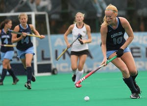 UNC Field Hockey defeats Wake Forest in the NCAA tournament.