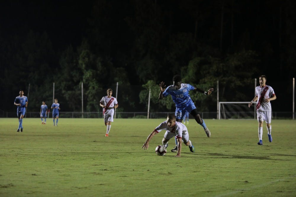 UNC men's soccer has a feeling of déjà vu in 1-0 loss to Indiana in Cary