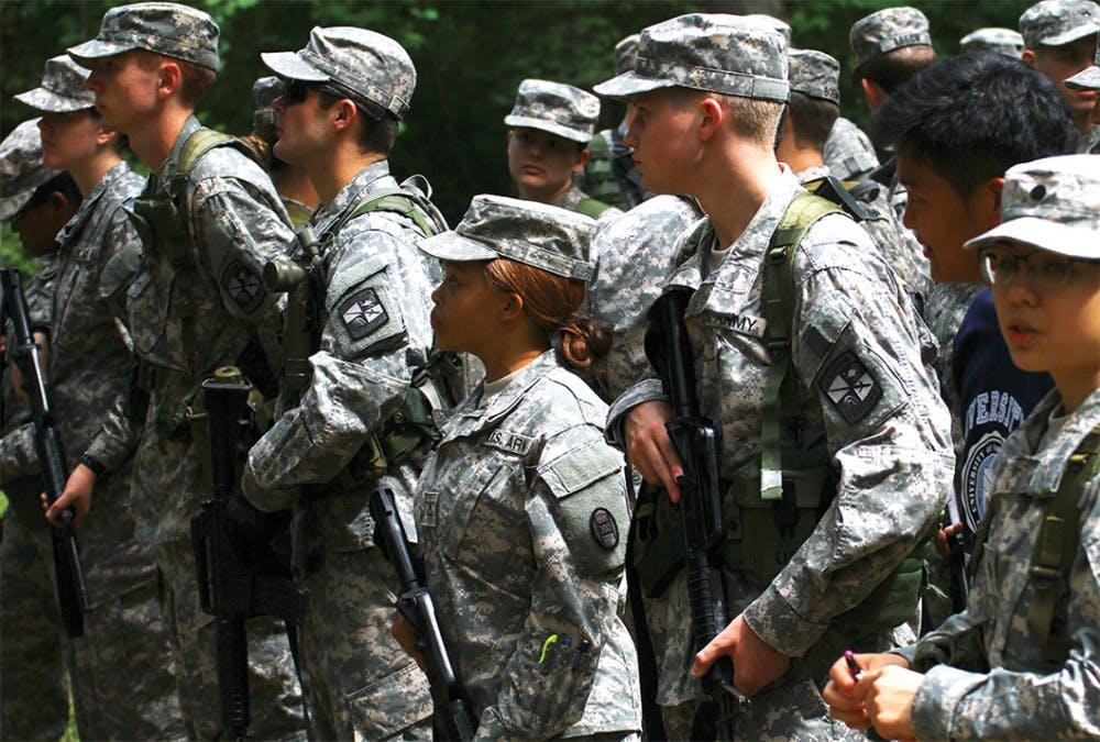 On campus, ROTC, veteran students bridge gap between military, civilians