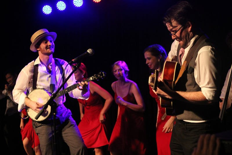 Chapel Hill-based band Ellis Dyson and the Shambles performed with opener Resonant Rogues at Cat's Cradle on Saturday.