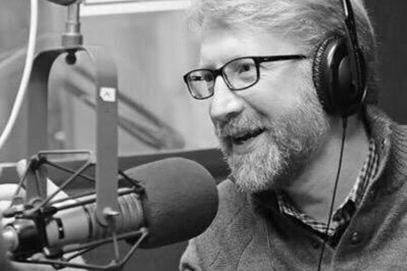 """UNC research professor Brian Southwell hosts WNCU's radio show """"The Measure of Everyday Life"""" every Sunday night at 6:30. (Courtesy of Brian Southwell)"""