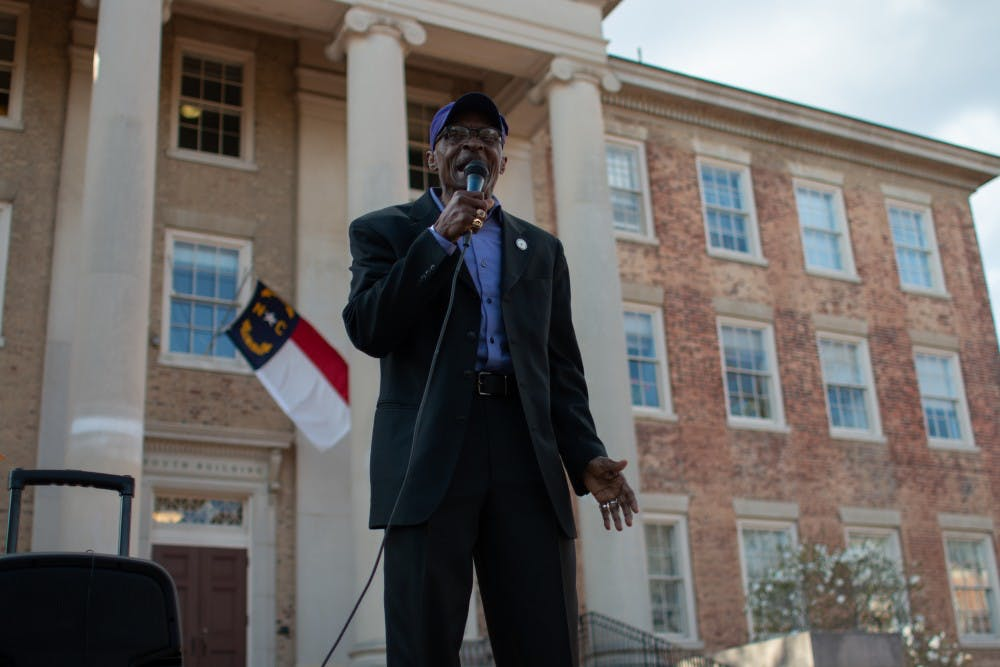 Local NAACP chapter protests UNC Police's handling of Confederate group with guns