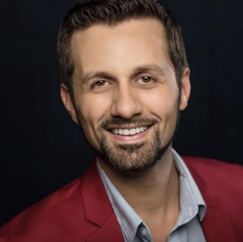 Three-time winner of The American Prize in Vocal Performance Justin John Moniz will be performing Friday, Sept. 27, 2019 at the James and Susan Moeser Auditorium in Hill Hall. Photo courtesy of Kira Derryberry Photography.