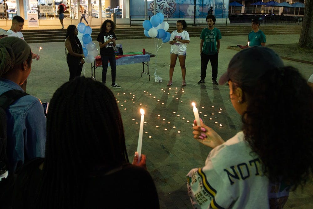 UNC students celebrate the life of rapper Nipsey Hussle