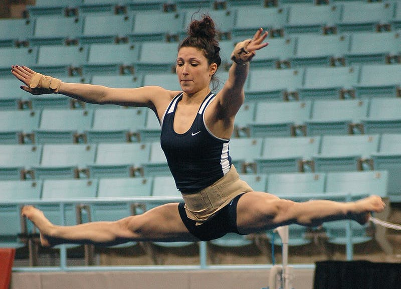 Redshirt junior gymnast Meredith Magjuka battled back from breaking her L1 vertebrae in the fourth meet of her freshman season.