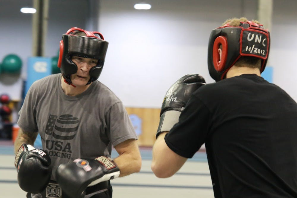 Boxing provides empowerment and growth for UNC students