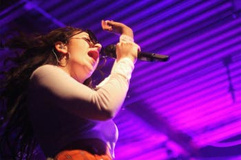 """Charli XCX performs """"Boom Clap"""" at the Cat's Cradle in Chapel Hill Thursday."""