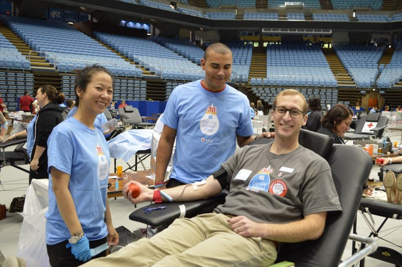 The Holiday Carolina Blood Drive. Contributed by Jim Pope.