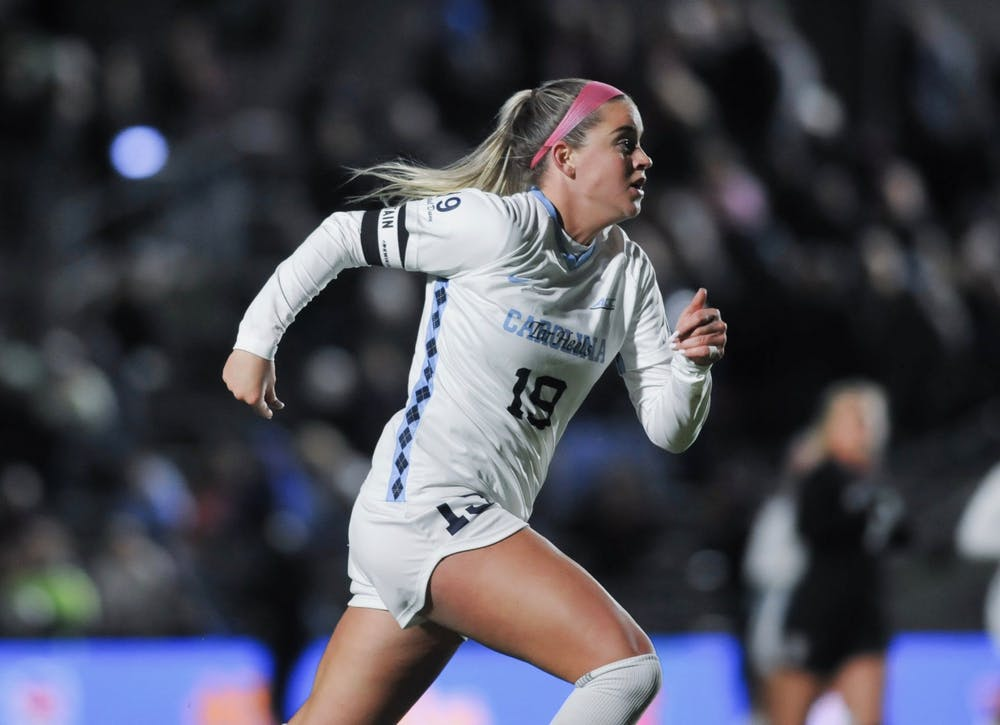 'That's all I want to be doing': Russo's two goals send UNC to ACC Championship