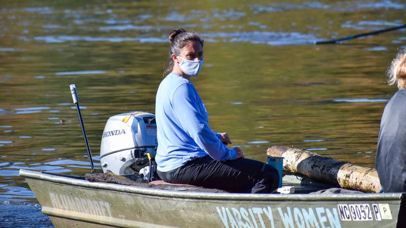 Ashley Myles, the new assistant rowing coach. Photo courtesy of Mary Lee Gibson.