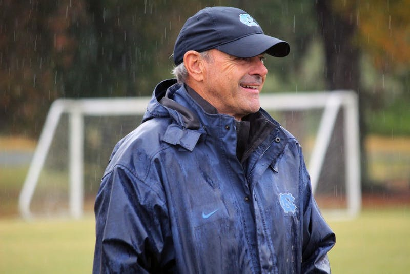 UNC assistant coach Bill Palladino has helped lead the women's soccer team to 23 national titles.