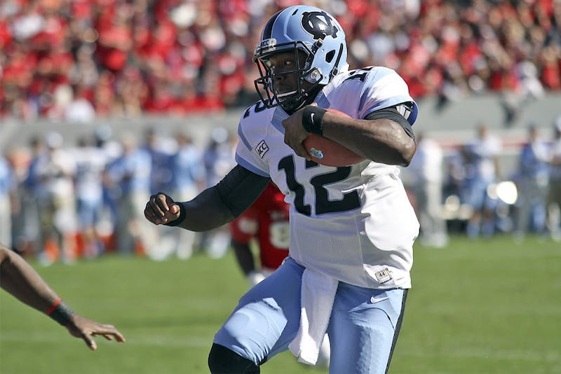 UNC defeated NC State 27-19 at Carter-Finley Stadium in Raleigh, N.C. on Nov. 2.