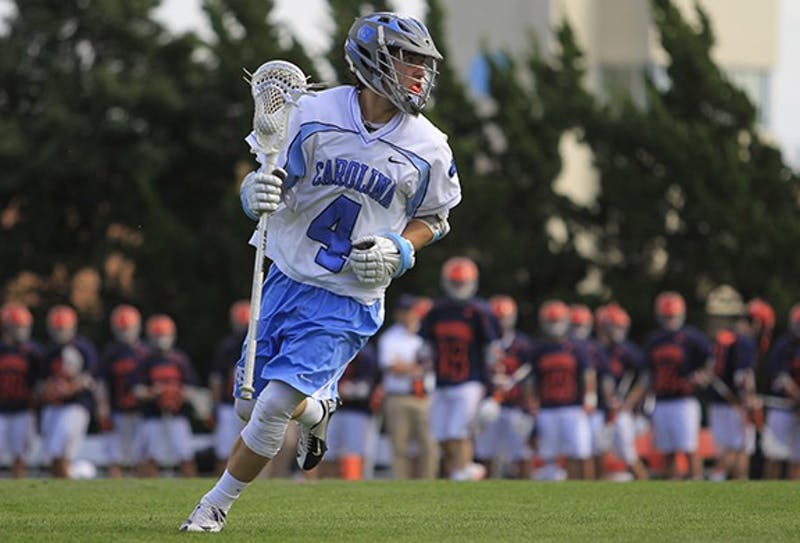 UNC men's lacrosse defeated Virginia Saturday 11-10 at Fetzer Field.