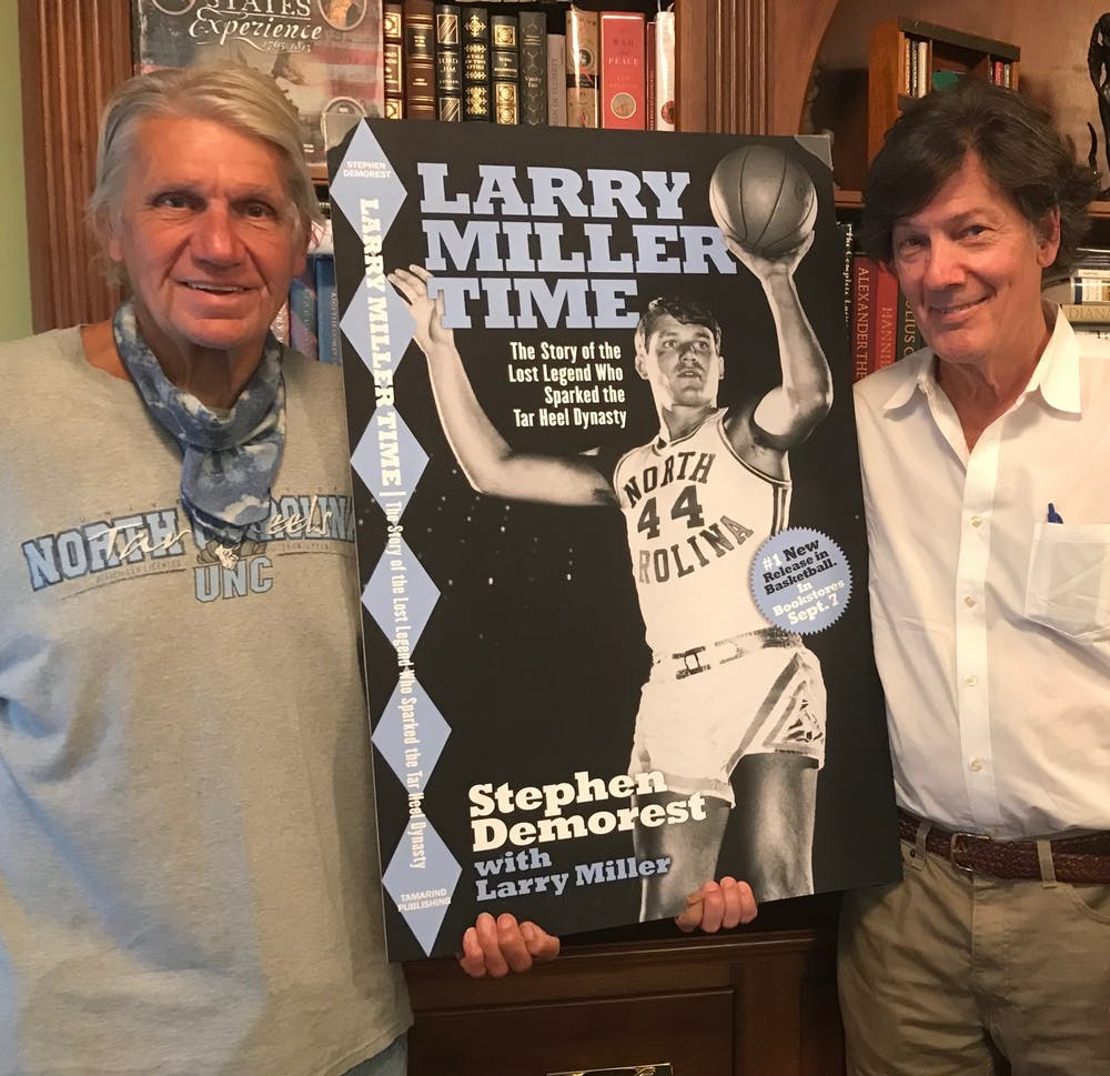 New book focuses on Larry Miller, 'lost legend' of UNC basketball