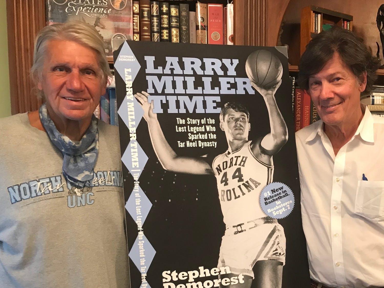 Larry Miller and Stephen Demorest. Photo courtesy of Katharine Walton.