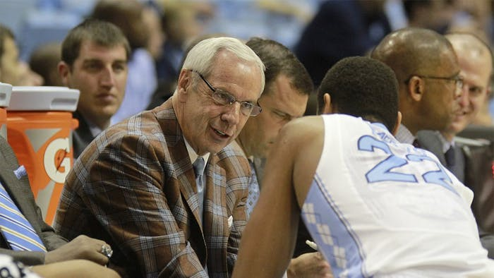 While attending the ACC men's basketball media day on Wednesday, coach Roy Williams was peppered with Wainstein report questions.