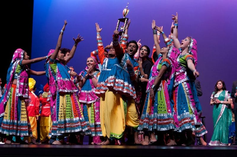 This Saturday, Nov. 16, 2019, South Asian dance and culture will be on display at Memorial Hall for UNC's 21st annual Aaj Ka Dhamaka (AKD) dance competition. Photo courtesy of Sravya Panchavati.