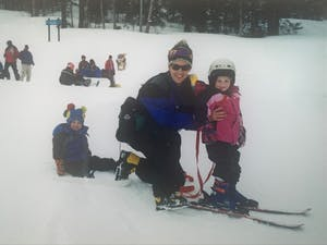 """""""To be a Kelly is to be a skier."""" Photo Courtesy of Allie Kelly."""