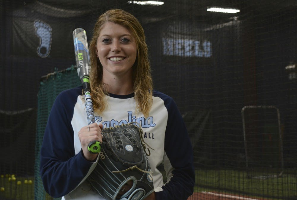 Kendra Lynch does it all for UNC softball