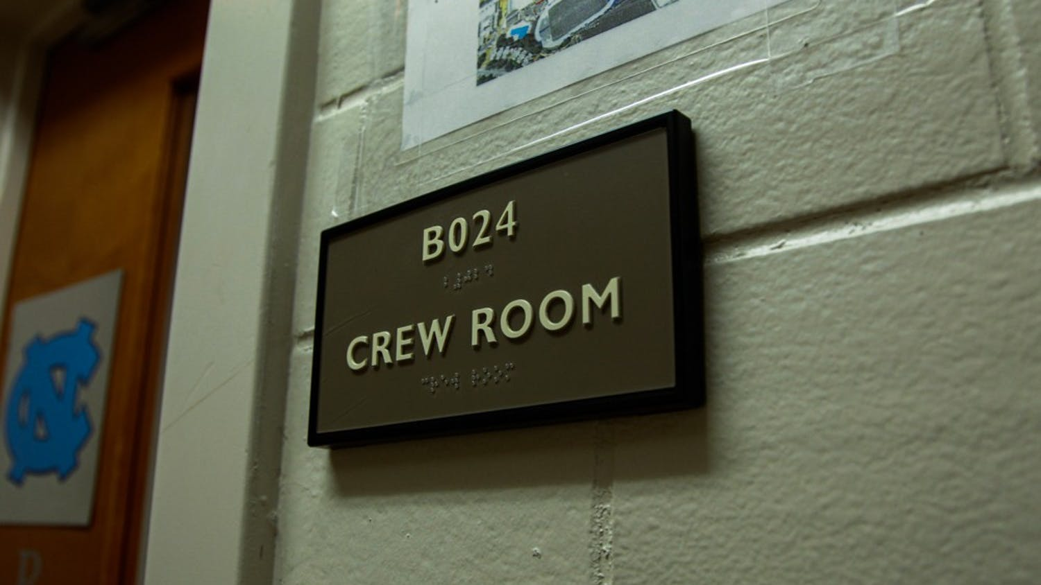 The women's rowing practice room is located in the basement of Woollen Gym, pictured on Monday, Dec. 2, 2019. Head coach Sarah Haney resigned in the midst of a Title IX investigation into the program.