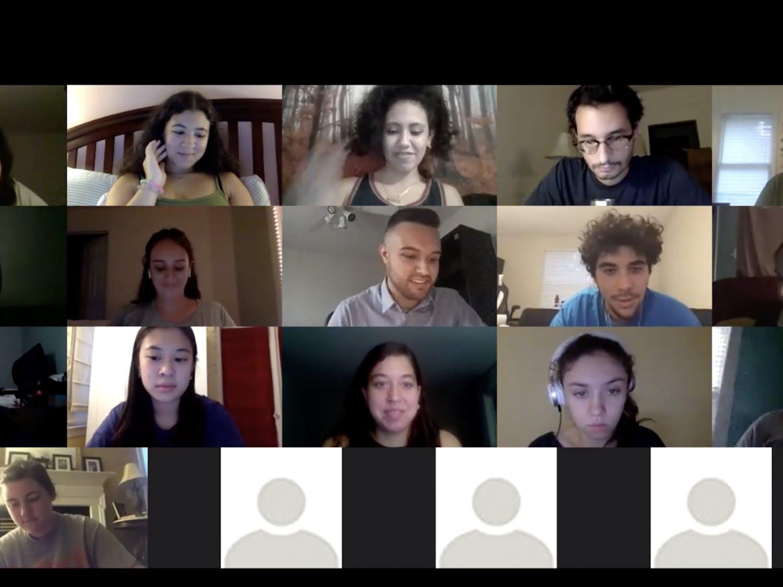 Screenshot of NAHJ meeting on Sept. 3, 2020.