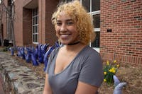 "Noni Shemenski, a communications studies major, will host Out Loud: POC Art Market & Variety Show, which is hosted by HERE: Representation in Arts & Comedy Festival. The event will include performances, art, standup, poetry and music by people of color.  Shemenski wants to host the show because ""it's important to showcase the variety of talents that people of color on campus have that often go unseen or unappreciated."" The event will take place on Saturday, Feb.23, 2019 at The PIT Chapel Hill."