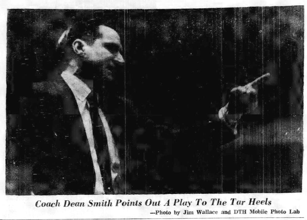 55 years ago, UNC men's basketball coaching legend Dean Smith was hanged in effigy