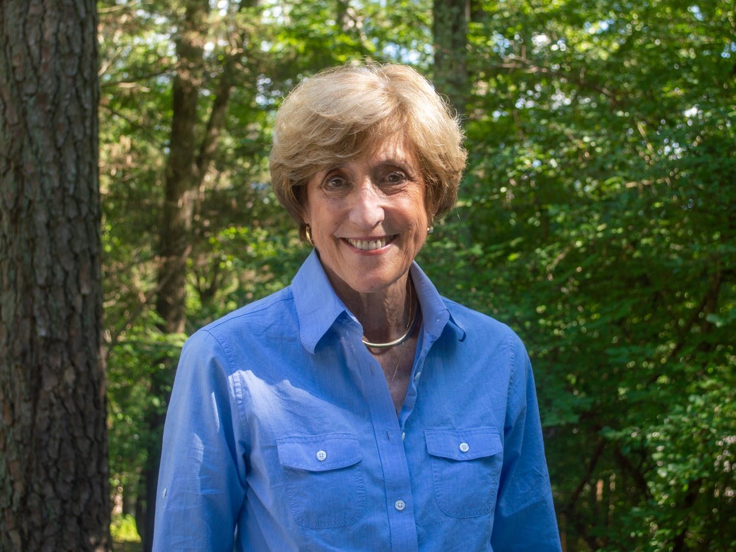 Dean Susan King smiles for a portrait in Chapel Hill on Saturday August 21, 2021.