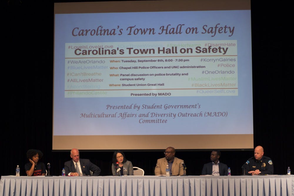Members of UNC community discuss police brutality and safety