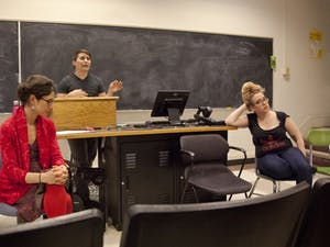 Panelists Elyse Crystall, Michal Osterweil, Noah Rubin-Blose and Suzi Pietroluongo share their viewpoints on the recent controversy about The Conflict over Gaza conference and Palestinian rapper Tamer Nafar's performance. Contributed by Jerry Markatos.