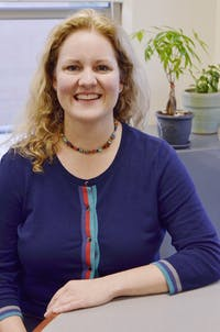 UNC professor Rebecca Macy, a former social worker, teaches now in the UNC School of Social Work. Macy also conducts research on domestic violence, sexual assault and human trafficking.
