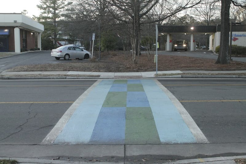 Crosswalk and Homestead Aquatic Center