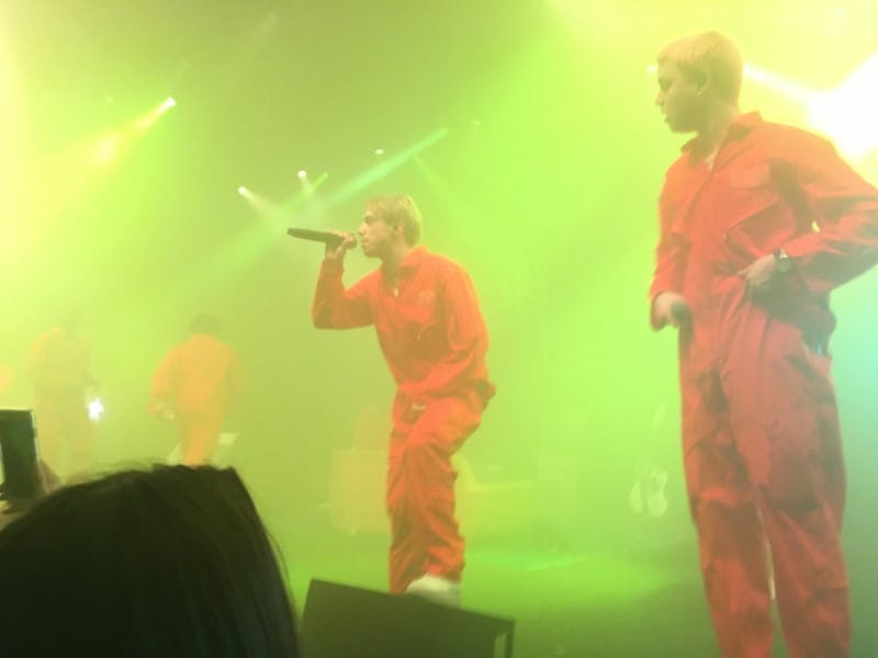 Brockhampton performed at The Ritz in Raleigh Monday night.