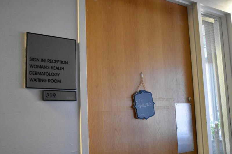 UNC Women's Health center on the third floor of UNC Camps Health.