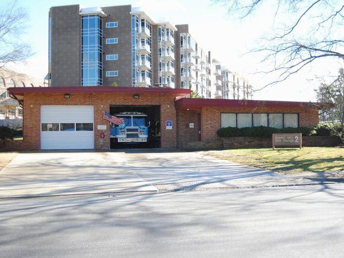 The Chapel Hill Fire Department has five stations, one of which is on Hamilton Road.